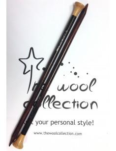 Rosewood needles agujas...