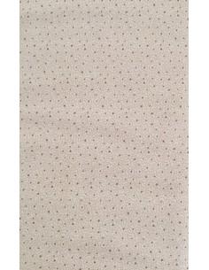 Tela patchwork color beis con diminutos puntos y triángulos, Colección básicos