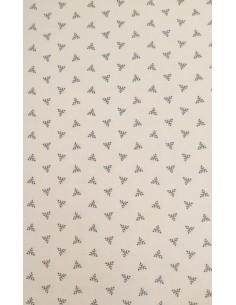 Tela patchwork color beis con pequeño dibujo geométrico, Colección básicos