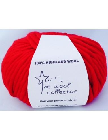Elegance Wool - Rojo Chilly. Lana...
