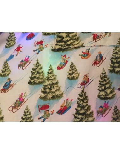 Tela patchwork Navidad Best Tree on the Lot