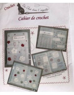 Kit Cuaderno de ganchillo crochet Un Chats dans l'Aguille