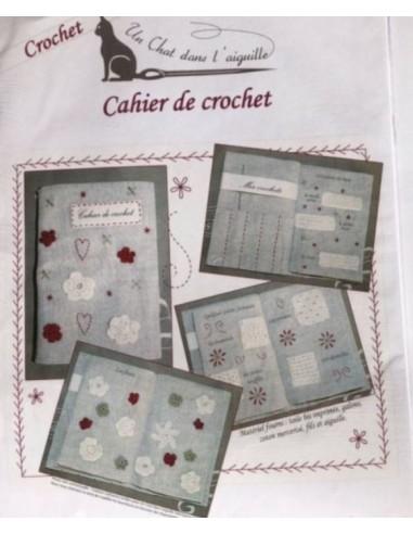 Kit Cuaderno de ganchillo crochet Un Chats dans l'Aguille