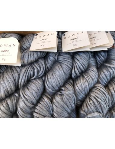Ovillo Sultano ROWAN color gris