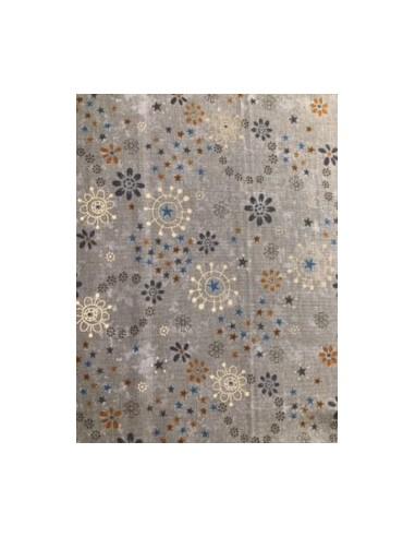 Tela patchwork gris circulos de la colección My Back Porche de One Sister