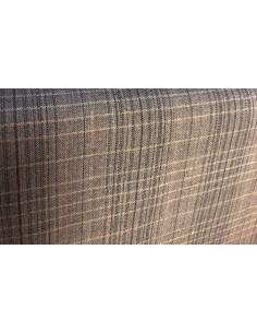 Tela patchwork japonesa cuadros grandes gris marengo