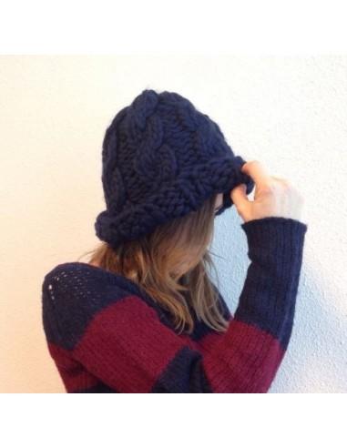 Hippie Hat - kit tejer lana peruana