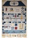 Tela patchwork estampados de costura American Country Collection de Masako De Lecien