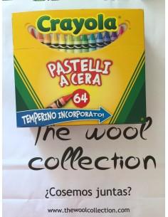 Caja de ceras Crayola 64 colores