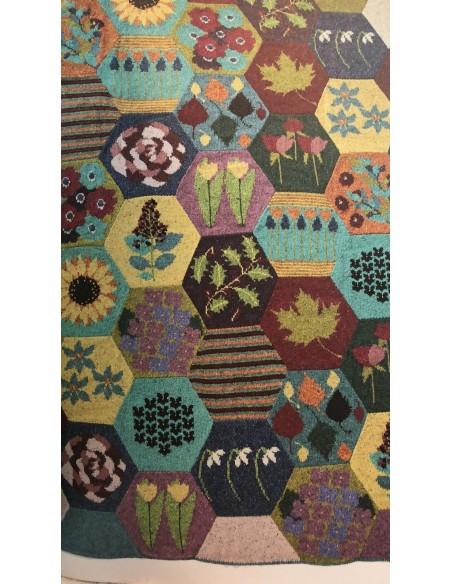 Primer envío manta Heirloom quilt lana Rowan