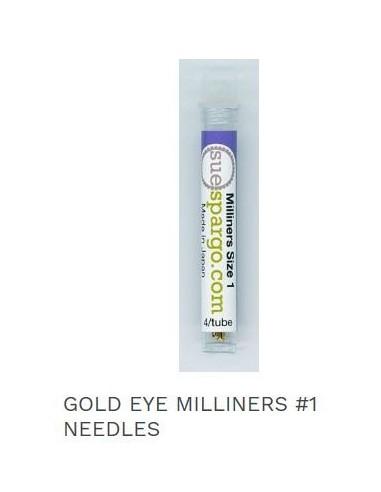 Agujas Gold eye milliners 1 Sue Spargo