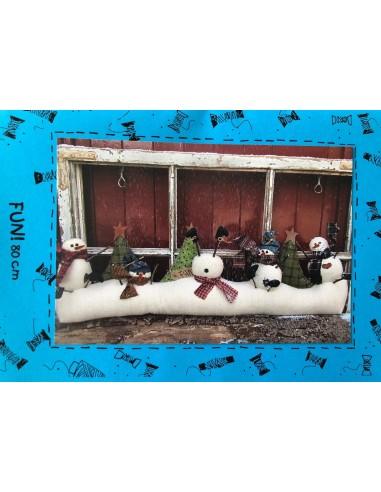 Kit Fun! muñeco de nieve Bobbins