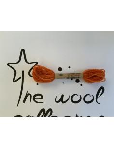 Hilo de lana naranja W17...