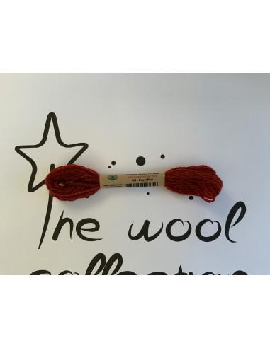 Hilo de lana rojo W8 royal red Valdani