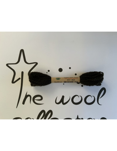 Hilo de lana negro W111 black Valdani