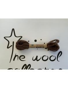 Hilo de lana marrón W212...