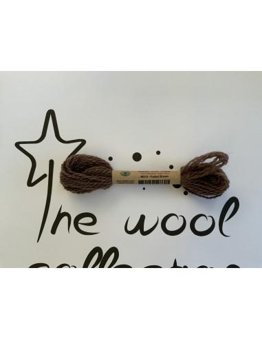Hilo de lana marrón W212 arded brown...