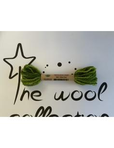 Hilo de lana verde oliva...