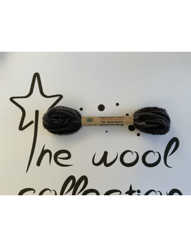 Hilo de lana W33 ebony almond Valdani