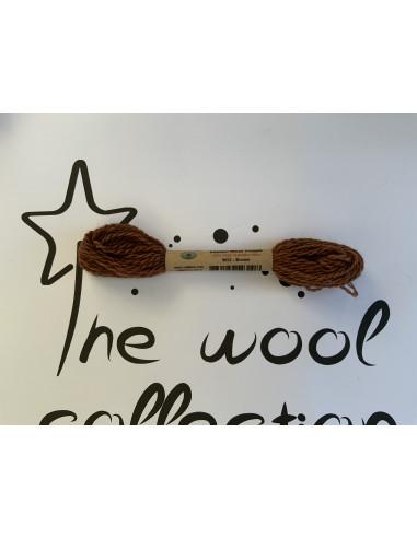 Hilo de lana marrón W32 brown Valdani