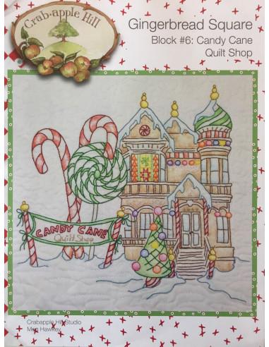 Candy Cane Quilt Shop bloque 6...