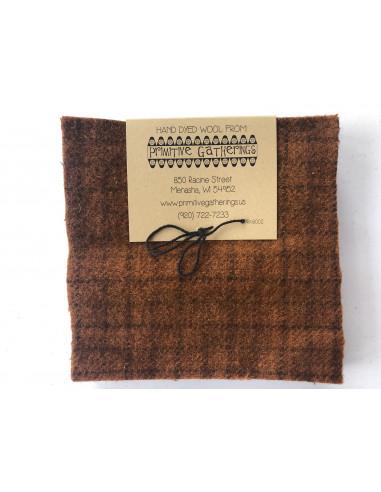 Charm Wool precortados de lana Pumpkin