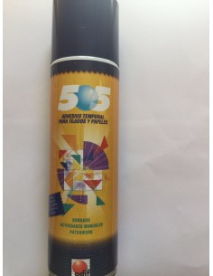 Adhesivo temporal spray 505...