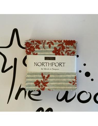 "Mini charm pack 2 1/2"" Northport 42..."