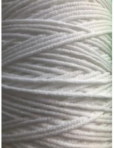 Goma cordón blanca elástica...