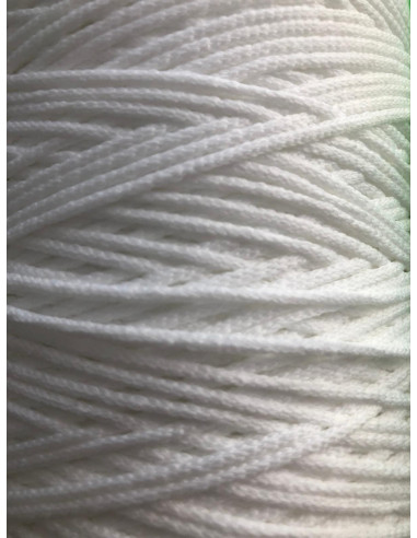 Goma cordón blanca elástica extra...