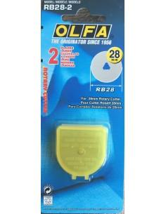 Recambio cutter cuchilla 28mm Olfa