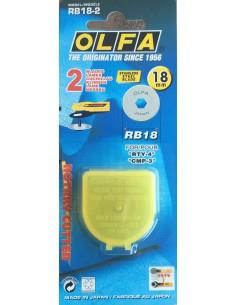 Recambio cutter cuchilla 18mm Olfa