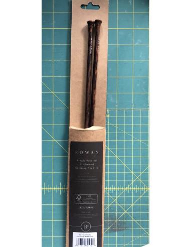 Agujas Tricotar madera Abedul Rowan