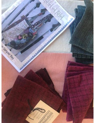 Kit bolso Home Sewn Sampler Bag Anni...