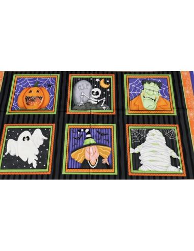 Panel Halloween brilla en la oscuridad