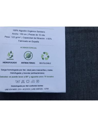 Sarga verde para mascarillas 70 lavados