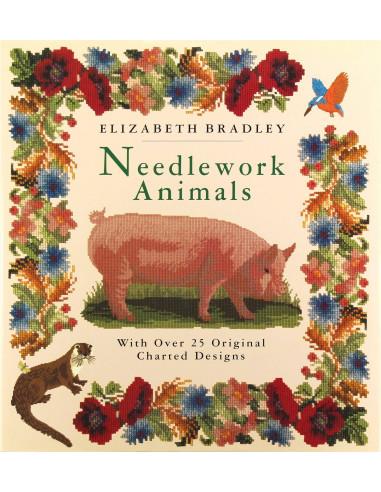 Libro Needlework Animals de Elizabeth...
