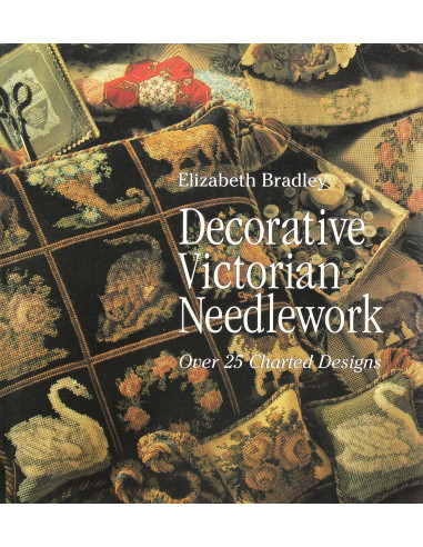 Libro Decorative Victorian Needlework...