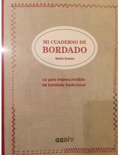 Libro patchwork: Mi Cuaderno de bordado de Marie Suarez