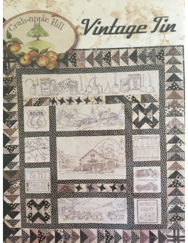 Quilt completo Vintage Tin