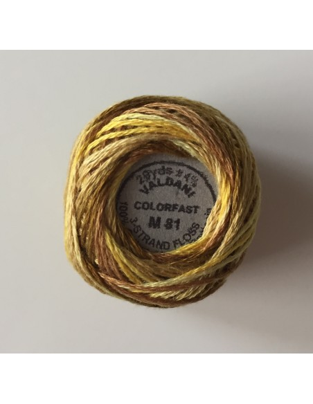 Hilo Valdani 3-Strand Cotton Floss M81- Backyard Honeycomb