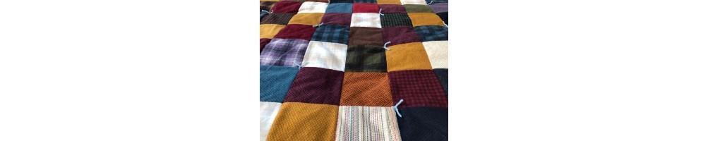 Telas de algodón de franela de patchwork