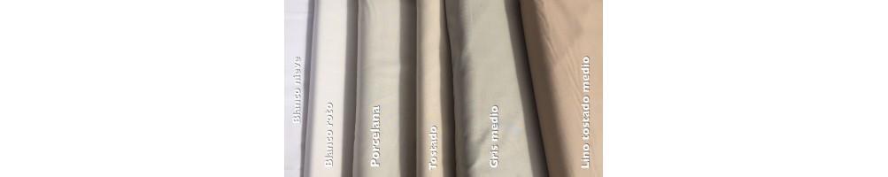 Telas algodón patchwork alta calidad. Colores ideales para las bases de tu quilt.