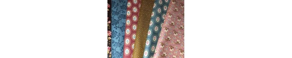 Tela de patchwork diseñada por Edyta Sitar Laundry Basket Quilts
