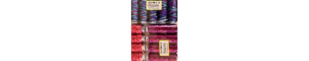Hilo Razzle de rayon con tacto de seda de Sue Spargo para bordar a mano