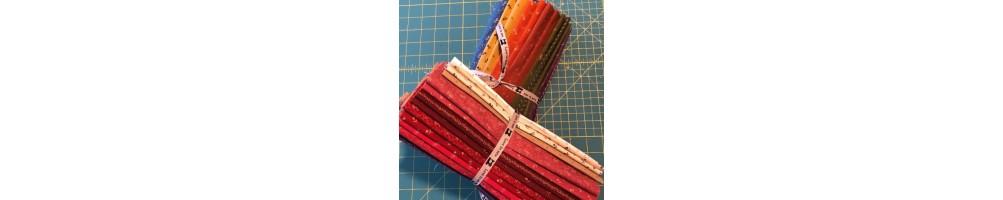 Telas patchwork Primitive Gathering ideales para quilts.