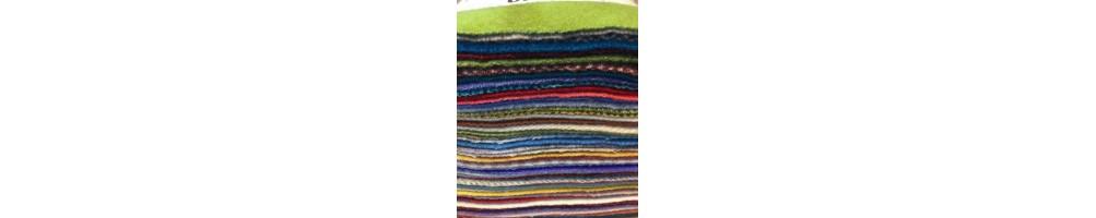 Telas lanas aplicaciones patchwork, quilts,