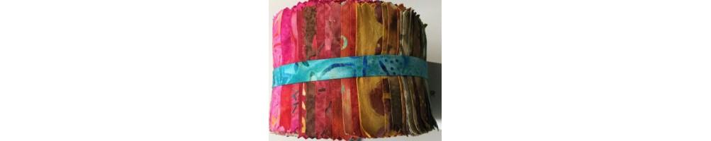 Telas batiks colores patchwork