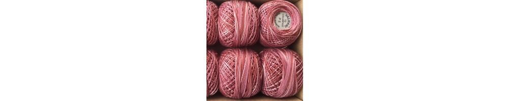 Ovillo perle Valdani Número 12 algodón para bordar o acolchar a mano