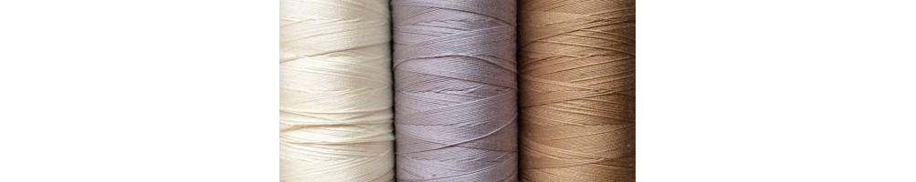 Hilo para coser a máquina en algodón y poliéster